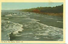 PORT STANLEY,ONTARIO-THE BEACH-#37-LINEN-WAVES-SHORE-(CAN-384)