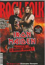 Rock & Folk N°517 septembre 2010 Phil Spector Iron Maiden Prince