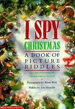 B002EA27AK I Spy Christmas: A Book of Picture Riddles