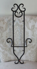 Beautiful Heavy Duty Decorative Oil Rubbed Bronze Iron Metal Wall Plate Rack