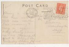 Llandudno 1948 Postmark Slogan Blood Donors Are Still Urgently Needed  735b