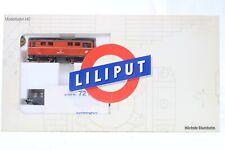 """Liliput H0e - 752 - Zug Set  """"ÖBB"""" Diesellok +  3 x Güterwagen in OVP"""