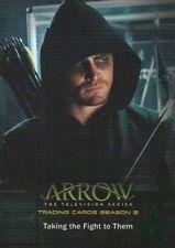 Cryptozoic Arrow Season 2 Green Foil Taking The Fight To Them Card #15