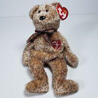 2002 Signature Bear Brown Ty Beanie Baby Retired Rare