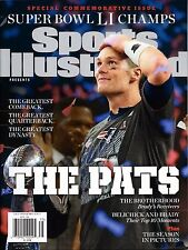 NEW Sports Illustrated Commemorative 2016 Patriots Super Bowl Champs Tom Brady