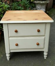 solid pine country style lamp table/ bedside table Annie Sloan