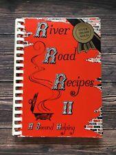 Vintage River Road Recipes II Cookbook Junior League BATON ROUGE LOUISIANA 1987