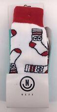 Neff Mens Snow Socks Boot Socks Snowboarding Skiing
