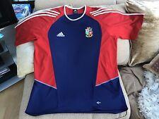 "Adidas British & Irish Lions 2005 Training T-Shirt Size 48/50"" Chest Great Cond"