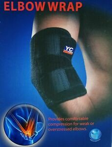 Elbow Support Adjustable Compression Sleeves BraceTennis Weight Lifting Gym Str