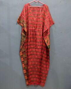 100% Pure Silk Kaftan Dresses Women Silk Dress Luxury Summer Dress # 172