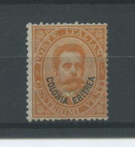 COLONIE ERITREA 1893 C.20 2 ** CENTRATO
