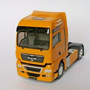 MAN TGX 18.680 V8 tracteur 1/43 orange - Eligor