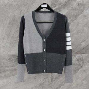 THOM-BROWNE Women Cardigan Sweatshirt Sweater