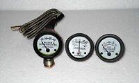 John Deere Tractor Oil Pressure, Ammeter, Temperature Gauge Set