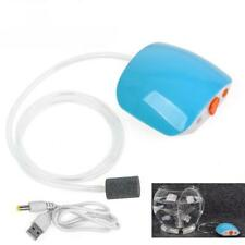 Rechargeable Mini Air Pump Fish Tank Mute Increase Oxygen Pump Compressor Bubble
