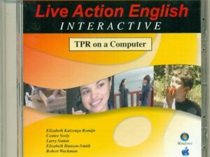 Live Action English Interactive TPR on a Computer CD-ROM Romijn, Seely ESL/ESOL