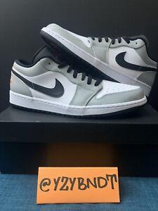 Nike Air Jordan 1 Low Light Smoke Grey Men's Size 13 (553558-030)