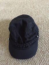 Negro Plano O Gorra de béisbol Ancla náutica botón Detalle por H&M la edad de 13-14 años
