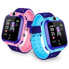 Reloj Inteligente para Niños Teléfono Podómetro Localizador impermeable GPRS SOS