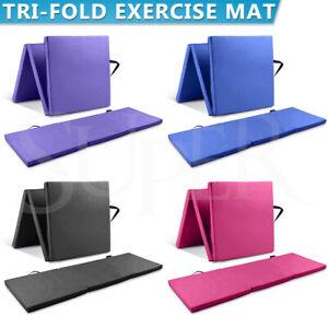 Folding Exercise Floor Mat Dance Yoga Gymnastics Training Home Judo Pilates Gym