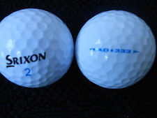 """20 Srixon """"AD333"""" - Golf Balles-PERLE GRADE."""