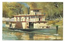 VIC - c1970s POSTCARD - P.S. EMMYLOU ON THE MURRAY RIVER, ECHUCA, VICTORIA