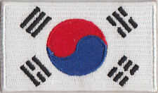 South Korea Country Flag Embroidered Patch T4
