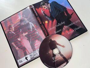 "DOUBLE DVD Johnny Hallyday "" Rouen 2015 """