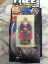 Justice League Superman Post Brands Cereal Action Figure - New in Box FREE SHIPP