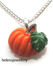 GORGEOUS HANDMADE PUMPKIN NECKLACE + FREE GIFT BAG