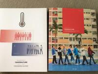 MONSTA X TEMPERATURE DVD photobook bookmark official goods merchandise