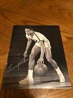 LENNY WILKENS ST. LOUIS HAWKS SIGNED AUTOGRAPHED 8X10 PHOTO HALL OF FAME 2
