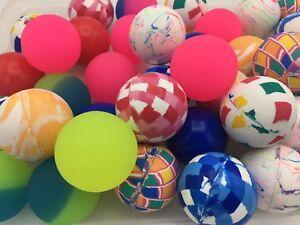 "400 Superballs 2"" 49 mm Super Bouncy balls bulk vending prizes Large High Bounce"