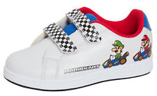 Super Mario Brothers Trainers Boys Sports Sneakers Mario Kart Casual Skate Shoes