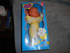 DOLL BABY - BABY SANDY # 1247 MADE IN HONG KONG FOR GRACO - DRINKS & WETS