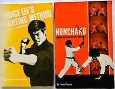 Bruce Lee's Techniques & Nunchaku -Karate of Self-Defense by Fumio Demura Vg+