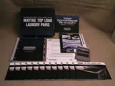 2015 Maytag Home Appliances Dealer Catalog Book w/ Resource guide, 12 Brochures+