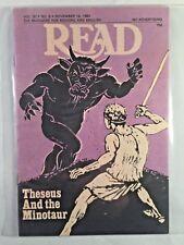 READ magazine Vol. 30 No. 6 Nov 19. 1980 Minotaur vs Theseus