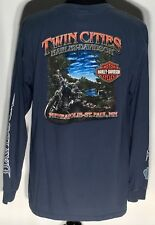 Harley-Davidson Motorcycles Twin Cities Minneapolis St. Paul XL Longsleeve Shirt