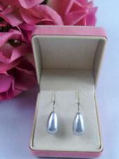 Mode-Ohrschmuck aus Sterlingsilber Perlen-Hakenverschluss