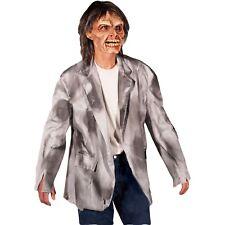 Zagone Studios Tattered Gray/Black Monster Zombie Coat Jacket Halloween Costume