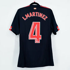 2017-18 Athletic Club Bilbao Away Shirt Player Issue #4 I. MARTINEZ Jersey