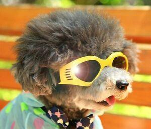 Small Dog Sunglasses Medium Goggles UV Eye Protection Pet Puppy Sun Glasses Wear