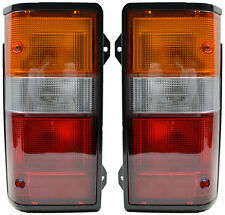 Pair of Tail Lights Nissan Urvan 03/87-12/93 New E24 88 89 90 91 92 Rear Lamps