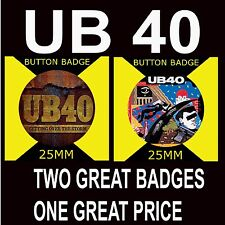 UB 40 -GETTING OVER THE STORM -LABOUR OF LOVE-RETRO MUSIC-BUTTON BADGE 25MM