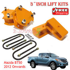 Fully 3-inch Lift Kits Leveling Mazda BT50 2012 Onwards SDX XT Shock Spacer 4x4