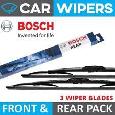 Skoda Fabia Estate 2000 - 2007 BOSCH Front & Rear Windscreen Wiper Blades