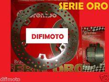 DISCO FRENO BREMBO + PASTIGLIE POSTERIORI HONDA SH 300 ANNO DAL 2007 7A6