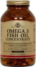 Omega 3 Fish Oil Concentrate Solgar 120 Softgel